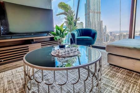 فلیٹ 3 غرف نوم للايجار في وسط مدينة دبي، دبي -  Burj Khalifa View