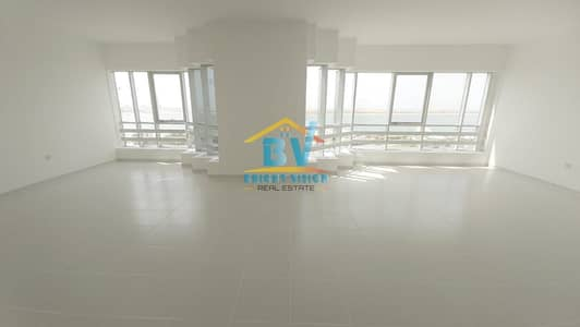 3 Bedroom Flat for Rent in Corniche Area, Abu Dhabi - Elegant 3 BD+Maids Room with Sea view apartment in Corniche area
