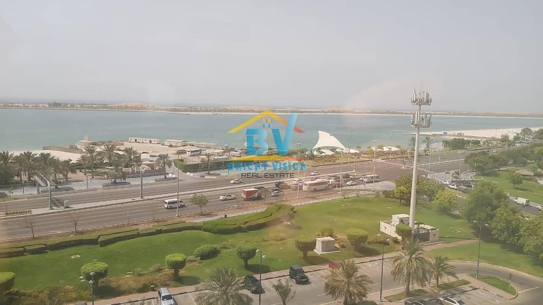 2 Elegant 3 BD+Maids Room with Sea view apartment in Corniche area