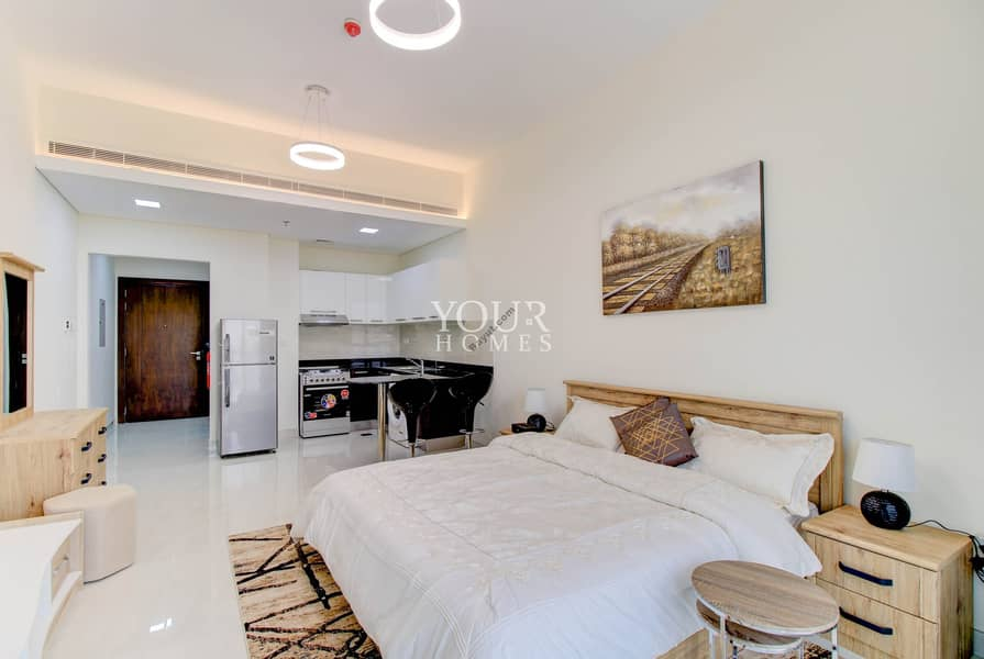 2 JA | 2 Months Free Luxurious Studio Apartment 32K Multiple Chqs
