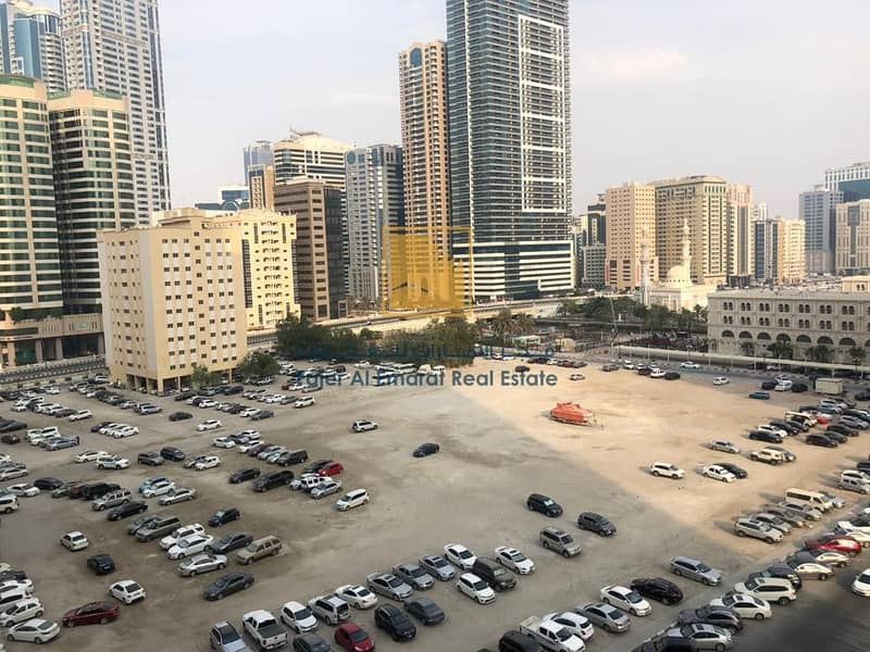 2 For Rent in Sharjah AL Qasbaa Area Two Bedroom With Parking