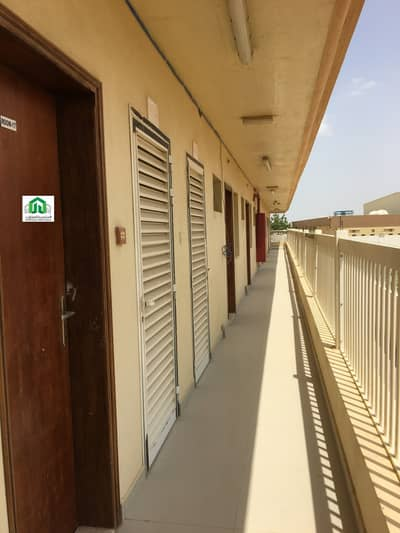 Labour Camp for Rent in Emirates Modern Industrial Area, Umm Al Quwain - only 850 AED per room- 38 room  ( Full compound Building )