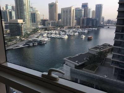 1 Bedroom Apartment for Rent in Dubai Marina, Dubai - Marina View| High Floor| Chiller Free
