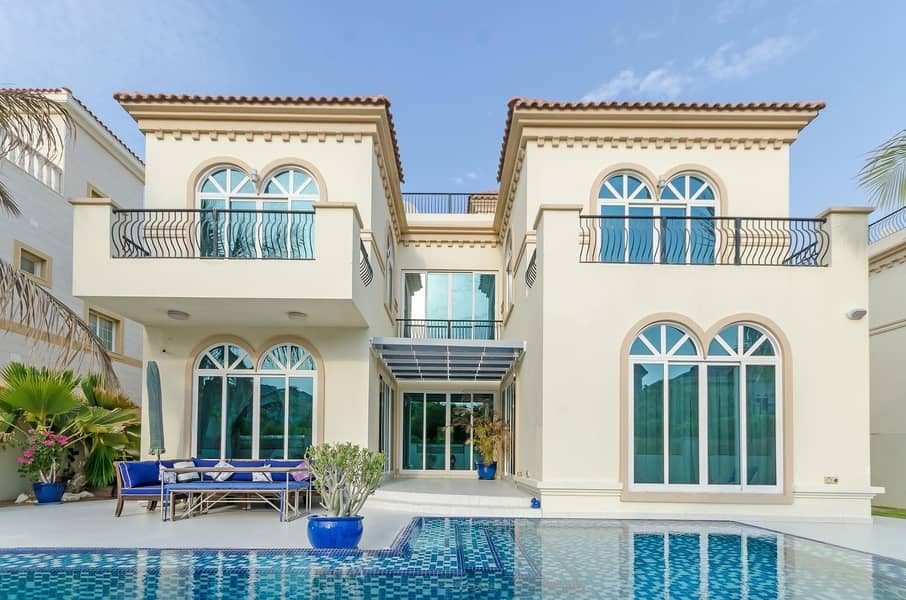 Modern Park Facing Front and Back | with Pool