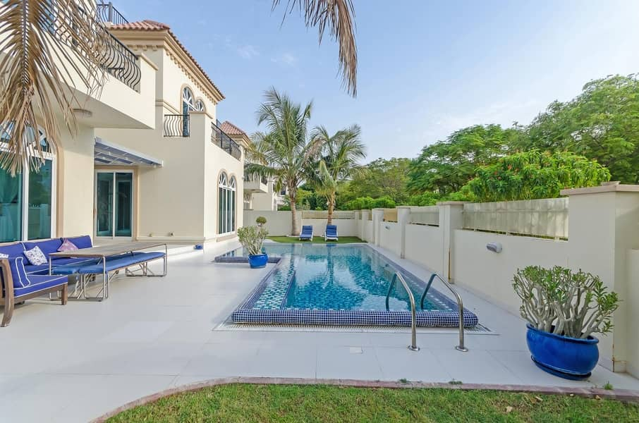 2 Modern Park Facing Front and Back | with Pool