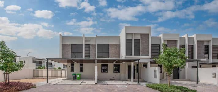 3 Bedroom Villa for Rent in Akoya Oxygen, Dubai - Single Row ! End Corner Unit! Big Size ! Brand New Lowest Price