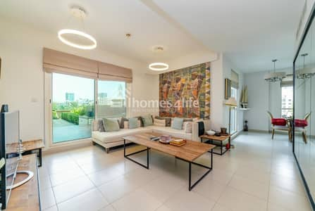 Exclusive|The View| Stunning 2 Beds with huge Balcony|community View