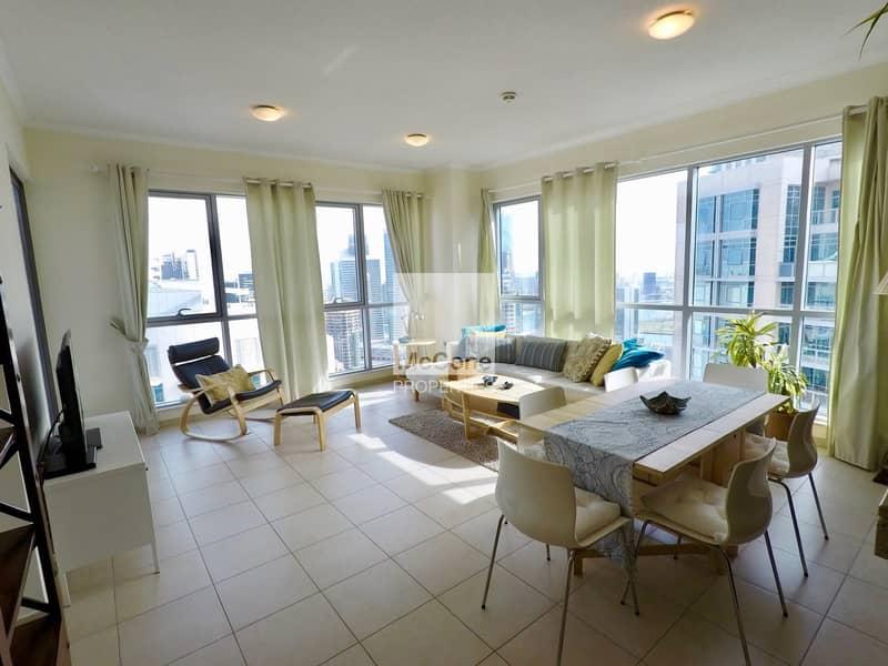 Spacious & Bright | High Floor | Stunning Views