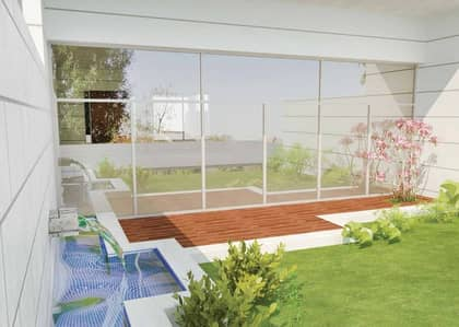 فیلا 4 غرف نوم للبيع في الفرجان، دبي - One BR Down Spacious Near Furjan Pavilion