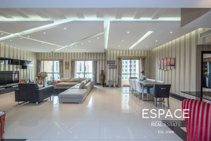 Upgraded Sea View |  Large 4 Bed Plus Maids