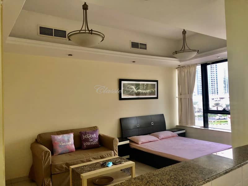 Perfect for you! Chiller Free Fully Furnished Studio in Al Waleed Paradise