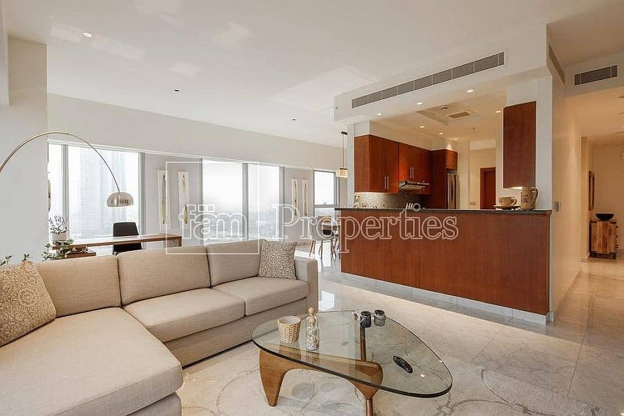 FULLY FURNISHED Duplex | Unique Roof Terrace