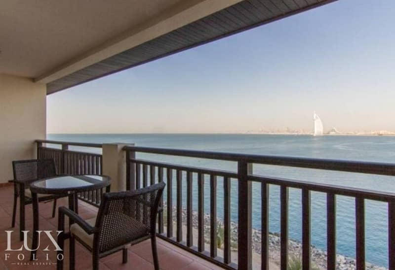 2 5* Hotel Living | Full Sea View |Furnished