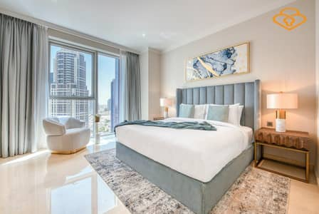 2 Bedroom Flat for Rent in Jumeirah Lake Towers (JLT), Dubai - Luxury Fully Furnished Two bedroom The residneces by TAJ