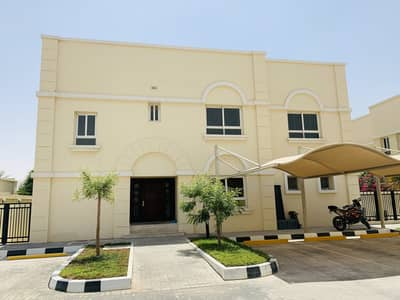 4 Bedroom Villa for Rent in Khalifa City A, Abu Dhabi - Jaw Dropping 4 Bedrooms Villa with Driver Room, sharing Gym & Swimming Pool in Compound