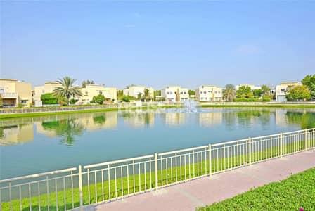 فیلا 4 غرف نوم للايجار في السهول، دبي - Lake View | Upgraded | Private Pool