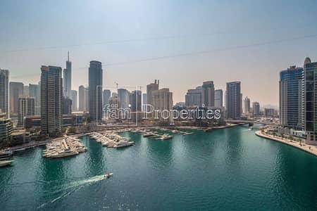 2 Bedroom Apartment for Sale in Dubai Marina, Dubai - Full Marina View | Spacious 2BR | Balcony