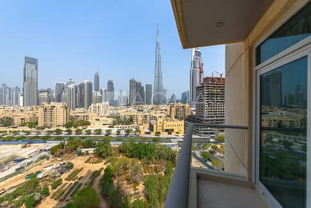 2 Bedroom Flat for Rent in Downtown Dubai, Dubai - Amazing views | Immaculate condition | Vacant