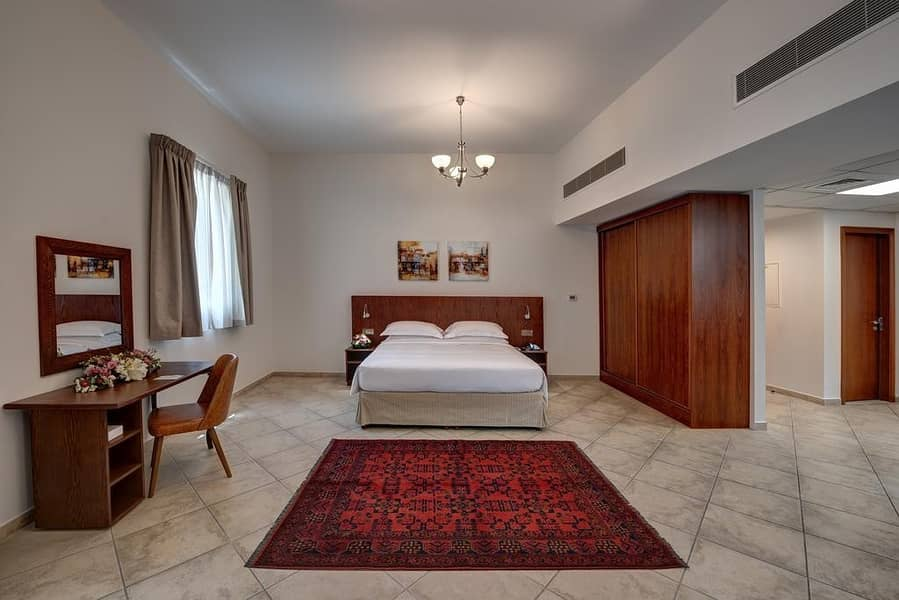Summer Promotion Fully Furnished Monthly Rental  fully serviced Studio