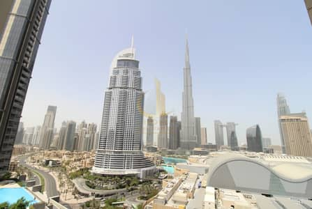 1 Bedroom Hotel Apartment for Rent in Downtown Dubai, Dubai - Burj and Fountain View | Fully Furnished