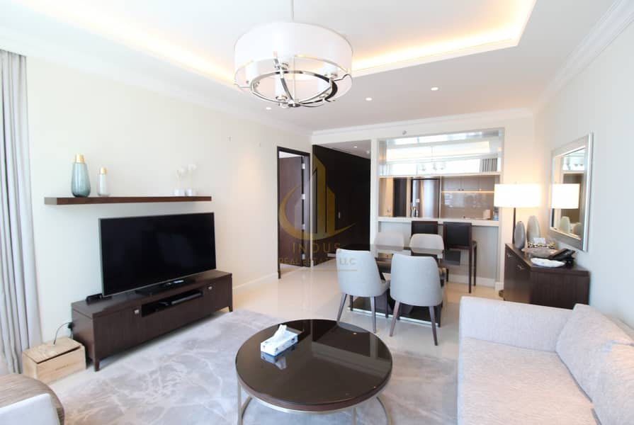 2 Burj and Fountain View | Fully Furnished