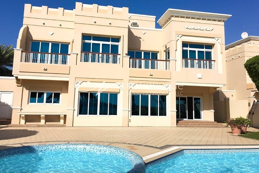 Captivating Sea Facing 5 BR Villa In Royal Marina Villas