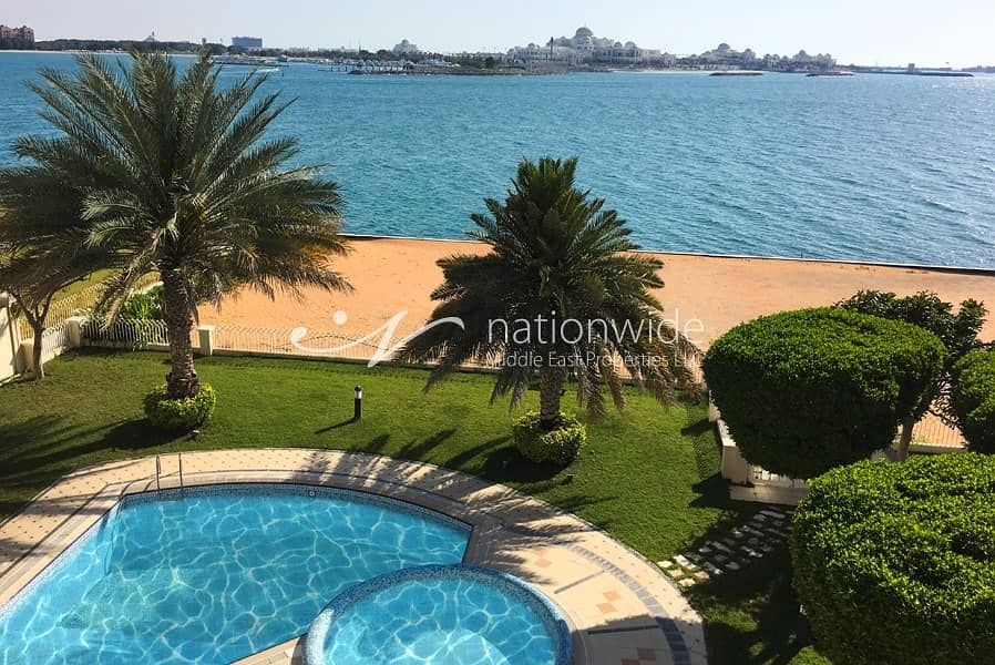 16 Captivating Sea Facing 5 BR Villa In Royal Marina Villas