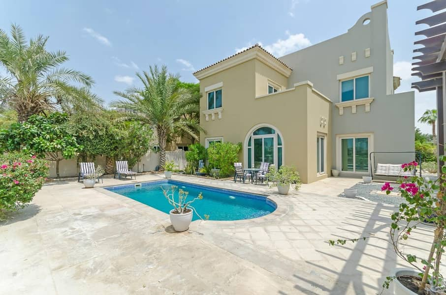 2 EXCLUSIVE |5 Bed C2 | with Pool on Golf Course