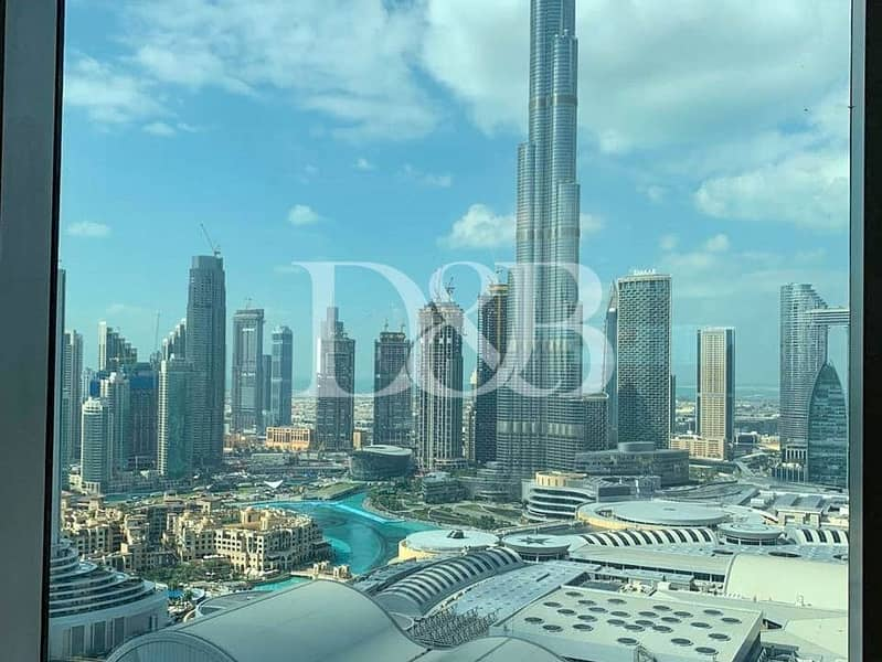 Full Burj View | Fully Serviced | Mid Floor