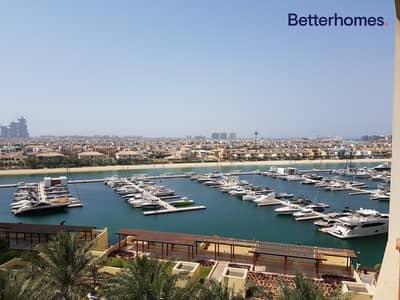 فلیٹ 2 غرفة نوم للايجار في نخلة جميرا، دبي - Sea view l Well Maintained l Mid Floor