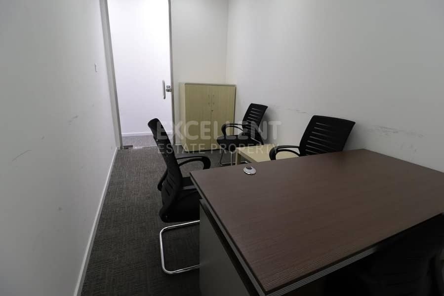 2 Grab Now this Perfectly Semi - Furnished Office in a Commercial Building
