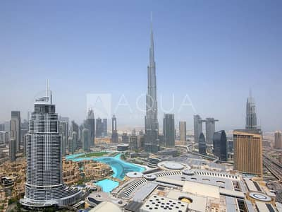 2 Bedroom Flat for Sale in Downtown Dubai, Dubai - Motivated Seller | Two Beds l Burj View