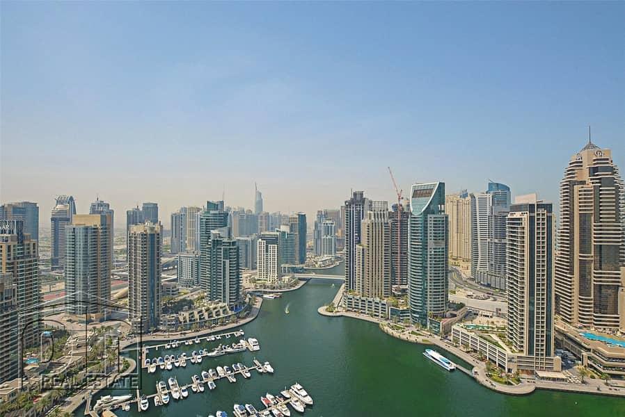 Luxury Living | Marina Views | 4 + Maids