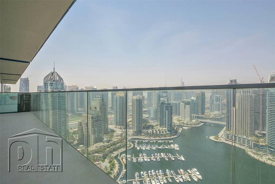 10 Luxury Living | Marina Views | 4 + Maids