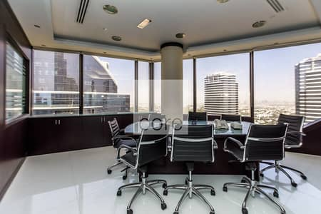 Office for Rent in Jumeirah Lake Towers (JLT), Dubai - Fitted Office I High Floor | Prime Location