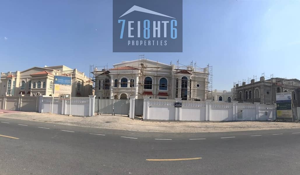 10 Outstanding quality: 7 b/r spacious brand new independent villa