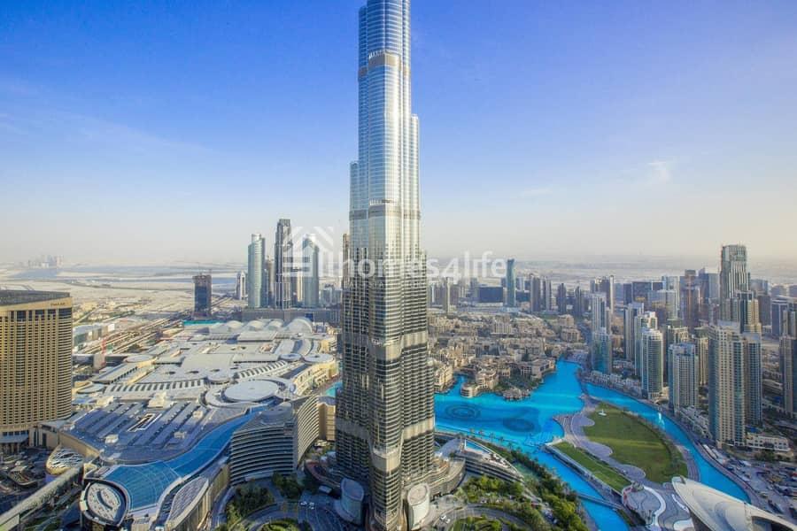 Super Fabulous Unit | Full Burj Khalifa view | Metro Connection
