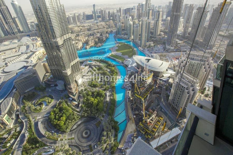 41 Super Fabulous Unit | Full Burj Khalifa view | Metro Connection