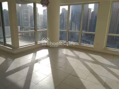 3 Bedroom Flat for Rent in Dubai Marina, Dubai - 3 BED + STUDY | MARINA VIEW | HIGHER FLOOR