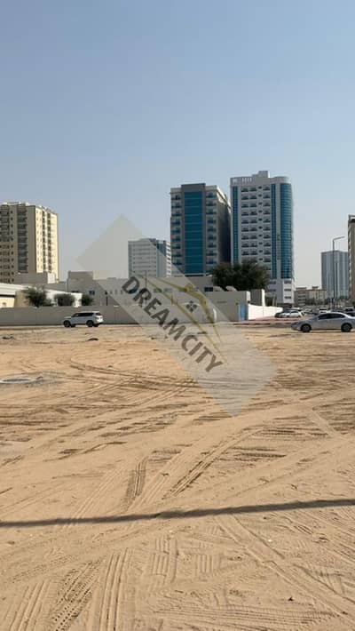 For those who want to invest and own freehold in the city of Ajman, a commercial residential land, corner 3 street, a great location
