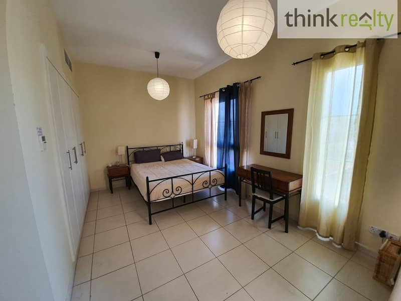Springs 10 -4M - 2 bedroom spacious, bright unfurnished for AED 80,000/-