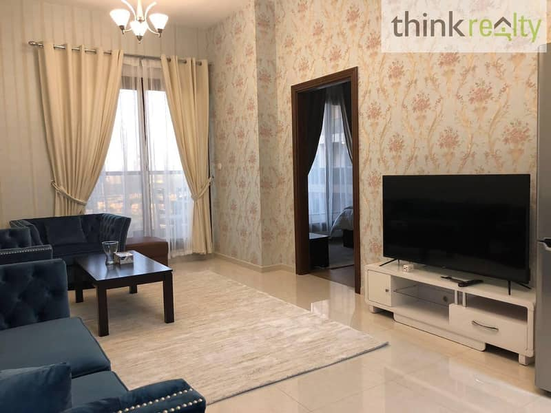 Beautifully furnished, Upgraded full golf course view 2 bedroom / Elite 10 / AED 790,000/-