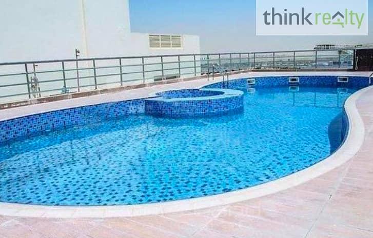 Spacious, Upgraded  Studio AED 330,000/-  Frankfurt Sports Tower. Dubai Sports City , RENTED