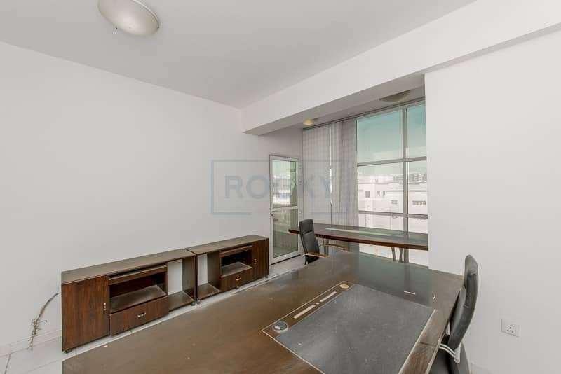 Spacious Office with Central Split A/C | Deira