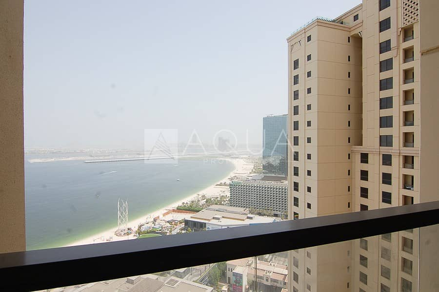 2 Fully Furnished   Full Sea View   Maid's room