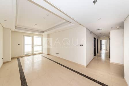 3 Bedroom Apartment for Rent in Downtown Dubai, Dubai - Huge Balcony   Maids room   High Floor