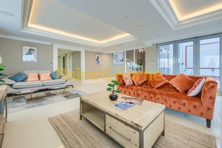 4 Bedroom Penthouse for Sale in Business Bay, Dubai - Spacious Duplex Penthouse |  Panoramic Views
