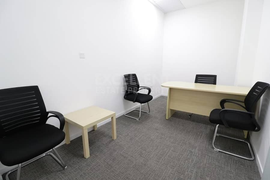 Bright and Clean Semi Fitted Office Space