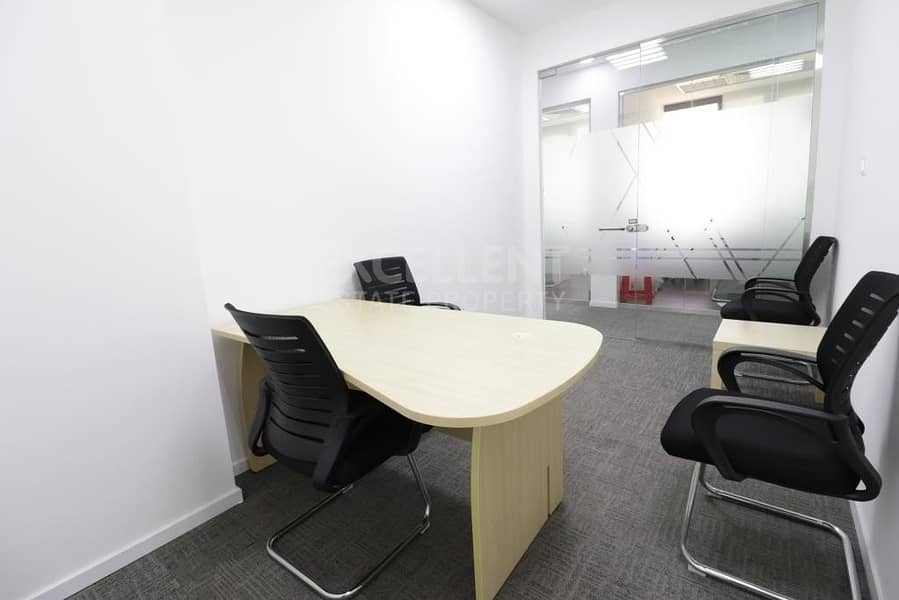 2 Bright and Clean Semi Fitted Office Space
