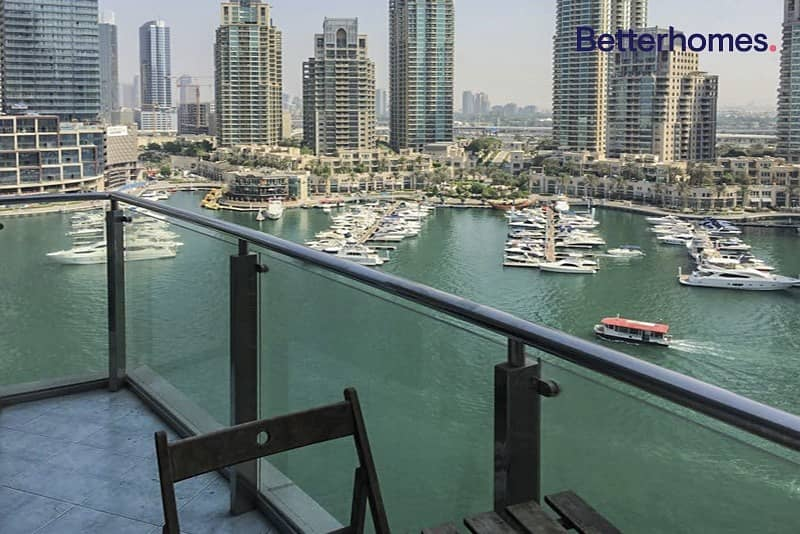 6 Fully Furnished   Full Marina View   Balcony